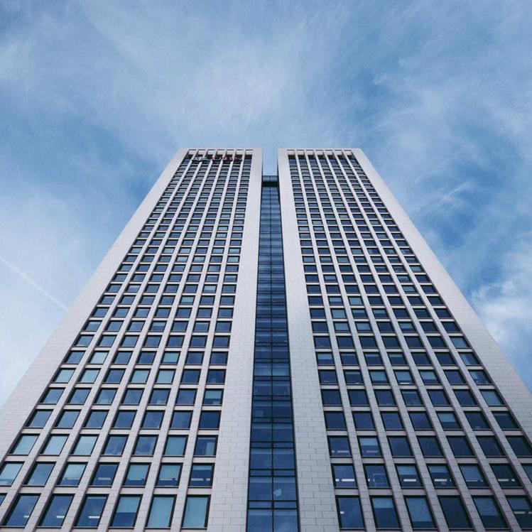 Wolkenkrabber Frankfurt