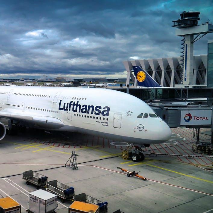 Vliegtuig Frankfurt